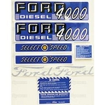 66885 Years:1962-64 Diesel Select-O-Speed Decal Kit.