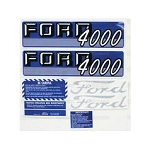 67696 Years:1962-64 Decal Kit, Complete, 4000