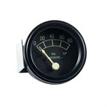 FAD9273A Years:1953-64 Chrome Oil Pressure Gauge (80 Pound) Like Original.