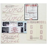 D-6005557 Years:1955-57 Decal set for 600