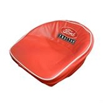 8N401R Years:All Seat Cushion W/Ford Logo (Red and White)