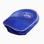 9N401B Years:All Seat Cushion With Ford Logo (Blue and White)