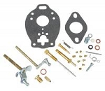 C547V Years:1953-57 Complete Carburetor Repair Kit. For Models From 1953 To 1957, With 134 CID Gas Engine.