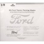 DG111 Years:1948-52 Ford Paint Mask (For Hood And Fenders)