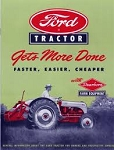DG12 Years:1948-52 Ford Tractor Sales Brochure