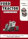 DG16 Years:1955-57 600 & 800 Operators Manual