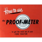 DG7 Years:1948-54 How To Use Proof-Meter