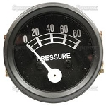 FAD9273B Years:1953-64 Black Bezel Oil Pressure Gauge