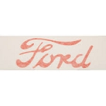 FTD110 Years:1948-52 Ford Vinyl Decals For Hood Logo (Set Of 2)