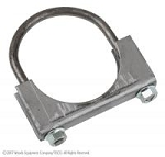 MC134 Years:1953-64 Muffler Clamp, 1-3/4