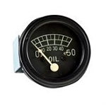 9N9273A Years:1943-49 50LB Oil Pressure Gauge. Black Bezel. Like Original.