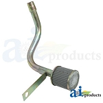 C7NNN994B Years:1965 & Up Filter & Pipe Assembly (Hydraulic Intake)