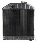 D8NN8005PA Years: 1965-81 Radiator Assembly For Models With Oil Cooler