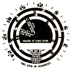 DG110 Years:1950-52 Proofmeter Face Decal (Not Water Dipped)