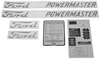 D-8015862 Years:1958-62 Decal set for 801