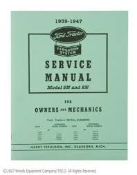 DG14 Years:1939-47 9N/2N Service Manual